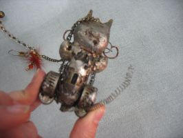 Mechanical Cat 04 by InsomniousMachinist