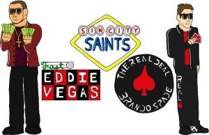 USWF: The Sin City Saints by jamesgannon