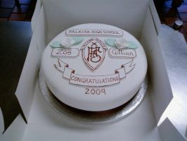 School Celebration Cake by chefkemp