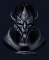 Saren speedpaint by Banni-Whitemane