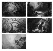 Quick Environment thumbnails 2 by Lyno3ghe