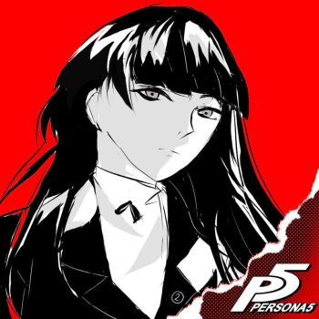 Persona 5 Classmate Challenge by cimplo