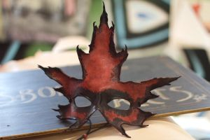 Sugar Maple Leather Mask by OsborneArts