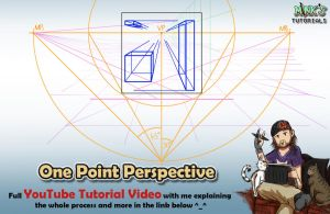 One Point Perspective - Mink's Tutorials (YouTube) by Minks-Art