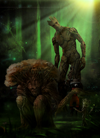 Grand father Groot by Aste17