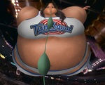 Kristina inflates 3 (Space Jam Style) by JuacoProductionsArts