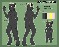 [C] Kai Monster Reference by lab-rats
