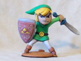 Windwaker Link by superclayartist