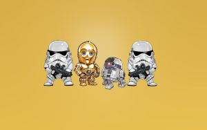 These Are The Droids by masterbarkeep
