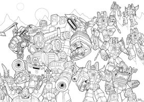 The Decepticons (lines) by J-Rayner