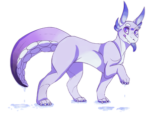 New OC?? by sharkfreckles