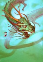 Chinese Dragon by anotherdamian