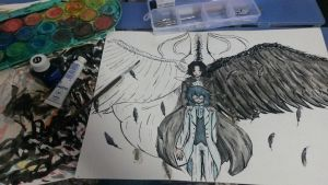 Come with me(Leo and Oswald Baskerville)*PROGRESS* by Ibizase80