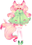 (open) fluffy mint adopt by lucash-adopts