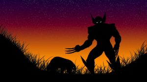 Wolverine's in the night. by LarryDNJR
