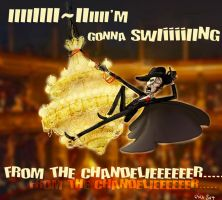PotO - Swing from the chandelier by Pika-la-Cynique