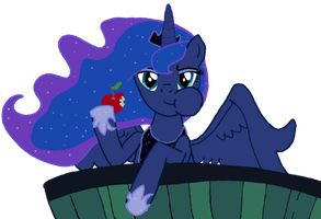 Luna - Problem? by MyLittleFlash