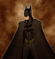 Batman Begins - color variant by What-the-Gaff