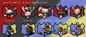 SnM - Icon Set for Season 2 by Ginny-N