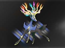 Wallpaper Xerneas by Kayrex