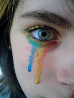 Colourful tears by Roozke112
