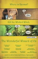 Wizard of Oz Issue 5 Recap by Gummibearboy