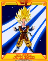 DBZ-Kid Goten SSJ by el-maky-z