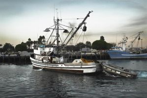 San Pedro fishing boat lost in history by Gilberto694277