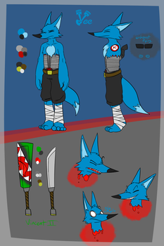 Vee Ref Sheet Neutral by Ruby229
