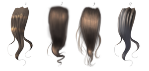 Hair Practice by Butterfly--Empress