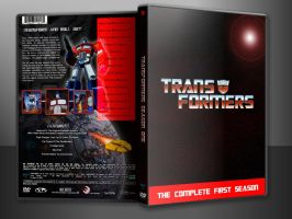 TRANSFORMERS SEASON ONE CUSTOM DVD COVER IN CASE by SUPERMAN3D