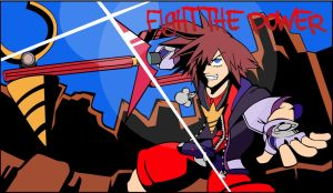 Fight the power Sora by hjtnw1