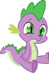 Sitting Spike Vector by scrimpeh