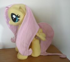 Fluttershy Plush by Nikicus