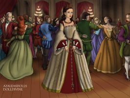 The Tudors: Princess Angela (Bride) by moonprincess22