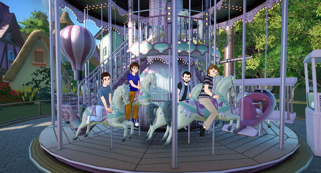 Ditzy World YCH Carousel 1/4 by buck3