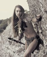 Cave girl #4 by ohlopkov
