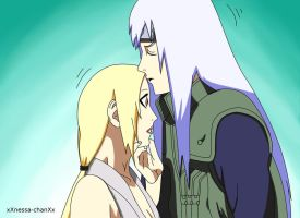 Tsunade and Dan by xXnessa-chanXx