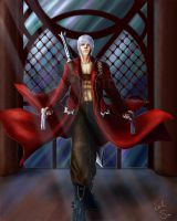 Dante and his two Ladies by Evil-Siren