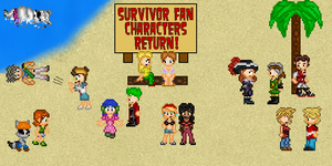 Survivor Fan Characters Return by Frank35