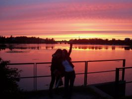 Finnish Sunset by Twilightgothictribal