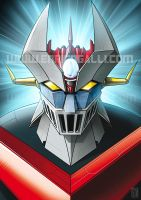 mazinger by EnricoGalli