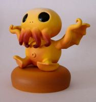 Baby Cthulhu by thebiscuitboy