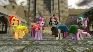 The Ponies of Hogwarts by Chatterbeast