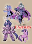 PONY GUNDAM UNICORN by shepherd0821