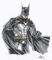 Batman marker sketch by jadranko-jin