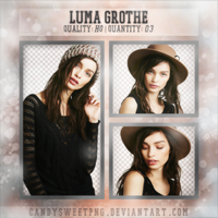 Png Pack 06 : Luma Grothe by CandySweetPng