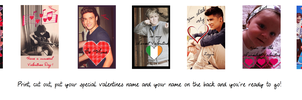 One Direction Valentines Day Cards by iluvlouis