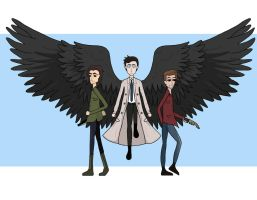 Team Free Will by GeekInspired