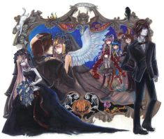 Halloween Wedding by Youkai-Yoko